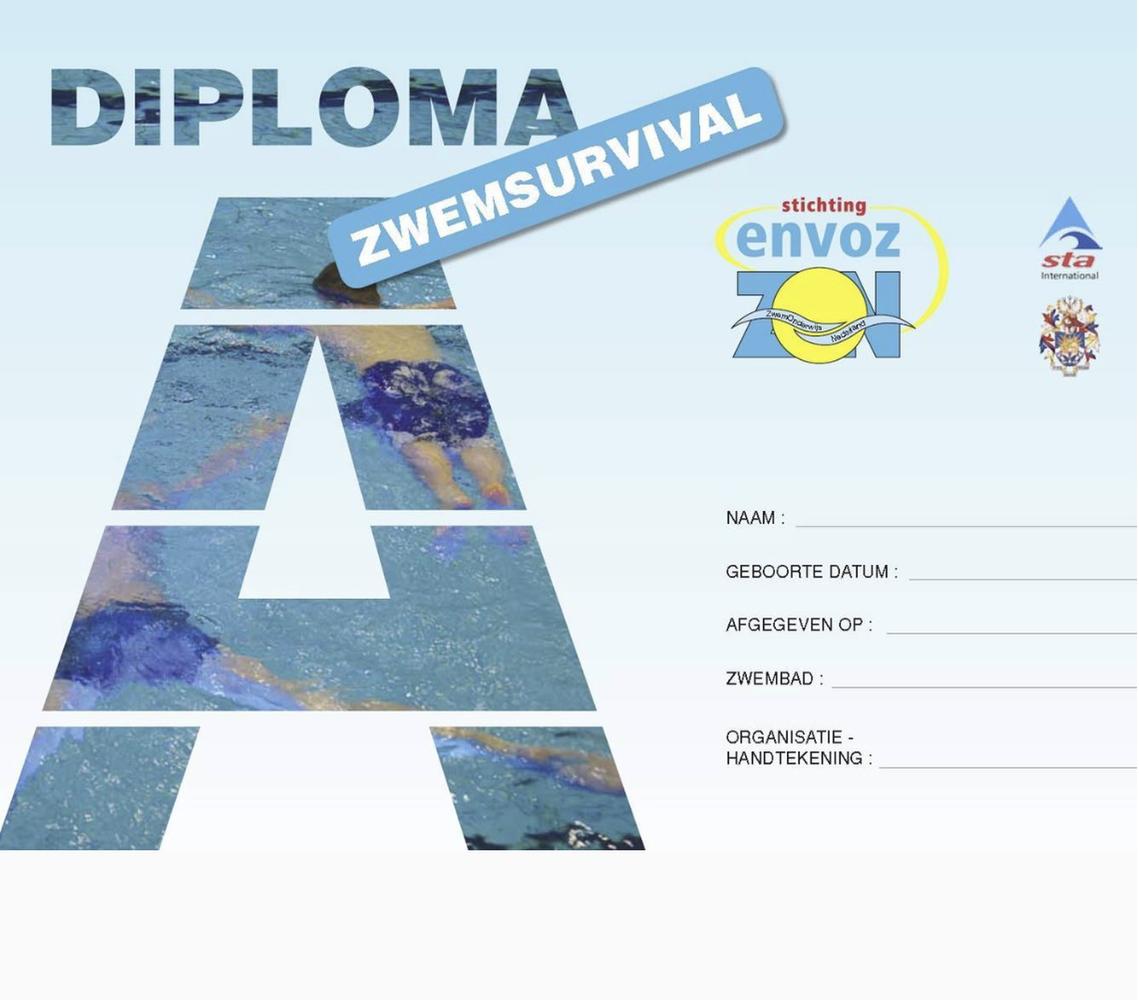 a zwemdiploma zwemschool pardoes amsterdam
